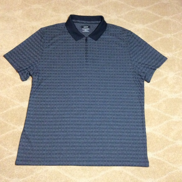 Alfani Other - Alfani Men's 1/4 Zip Polo Shirt, XL